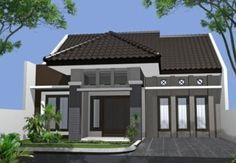 Contoh Gambar Taman dan Teras Rumah Minimalis type 36 45 2