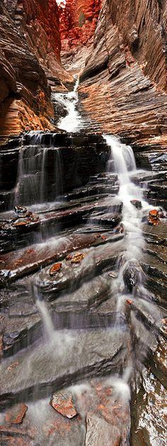 Karijini National Park . Australia