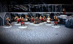 #tabletop #tabletopart #dwarves #zwerge #miniatures #miniaturespainting #herrderringe #gamesworkshoplotr #gamesworkshop #geländebau… Op Art, Tabletop, Miniatures, Models, Table Decorations, Instagram, Painting, Home Decor, Lord Of The Rings