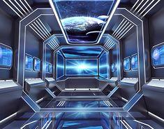 Spaceship Interior, Futuristic Interior, Spaceship Art, Futuristic Furniture, Futuristic Architecture, Design 3d, Boat Design, Banners, Space Lab