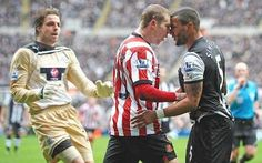 Things get heated on the pitch as Sunderland host Newcastle
