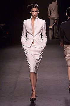 Alessandro Dell'Acqua Fall 2000 Ready-to-Wear Fashion Show - Alessandro Dell'Acqua, Caroline Ribeiro