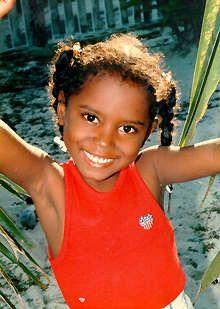 Pretty little Belizean. (Belize, Central America)
