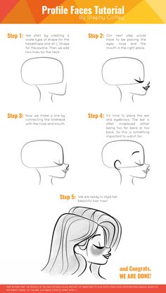 Lately I've been asked a lot about how I draw profile faces, so I decided to do a quick and easy tutorial to show you how I do it. Hope you guys like it and find it useful.If you have any questions or comments feel free to write me… and I'll be happy to answer you back : )