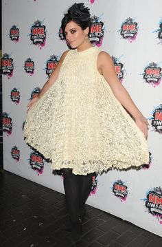 Lily Allen at NME Awards