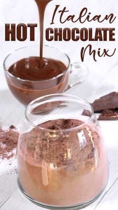 Italian Hot Chocolate (Cioccolata Calda) is famous all over the World because it's unique: thick, creamy with a rich true chocolate flavor, it's a perfect wi.