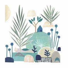 Collages, Collage Artists, Collage Illustration, Illustrations, Landscape Arquitecture, Collage Techniques, Affinity Designer, Art Plastique, Animation