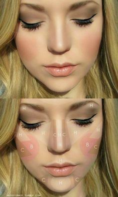 Guide to Highlighting, Contouring and Blush