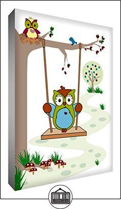 Feel Good Bloquear Arte Decorativo de la madre y del bebé del búho en árbol de 21 x 14 x 2 cm  ✿ Regalos para recién nacidos - Bebes ✿ ▬► Ver oferta: http://comprar.io/goto/B0100S2SAQ