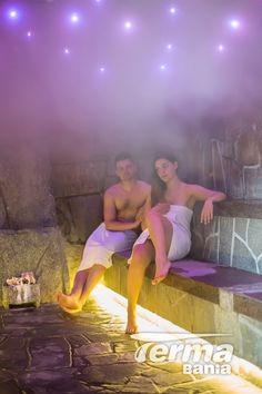 Wspólny relaks w saunie to sama przyjemność :)