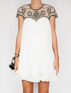 Alina beaded dress