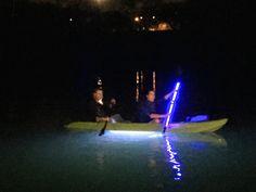 Bottom boats glass paddle