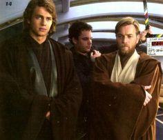Anakin Skywalker and Obi Wan Kenobi