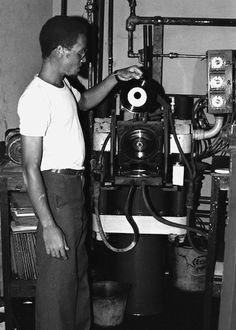 Bring Back - Record Press Plant - Jamaica.