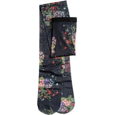 Floral Tights $24.99 ($25) ❤ liked on Polyvore featuring intimates, hosiery, tights, floral print tights, floral tights and floral stockings