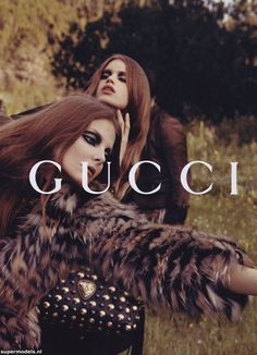 Supermodels.nl Industry News - Lily, Abbey Lee & Eniko for Gucci FW0809