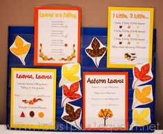 Printable Fall Leaves Songs and loads of other fall theme ideas