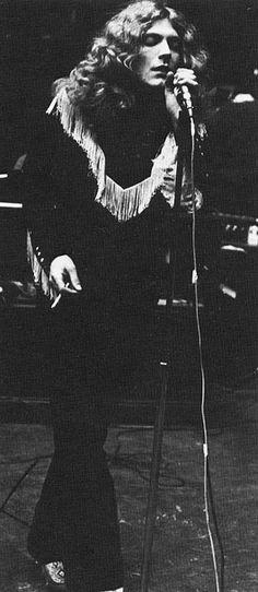 Robert Plant of Led Zeppelin .   #LedZeppelin