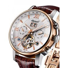 Ingersoll IN6900RWH Grand Canyon IV Automatik 42mm 3ATM - Timeshop24.de Limited