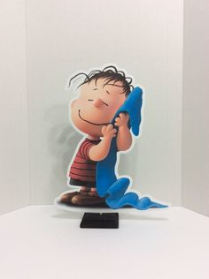 "15"" Linus Centerpiece,Snoopy Party,Charlie Brown Birthday,The Peanuts,Birthday Decorations,Baby Shower Decors,Party Supplies by LoveToFiesta on Etsy"