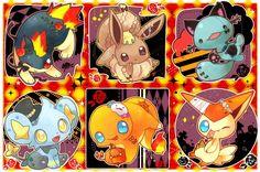 cute pokemon halloween <3