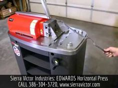 NOW AVAILABLE at Sierra Victor Industries: The New EDWARDS 20 Ton Horizontal Press! MODEL HP20T. For more information or to Order, CALL TODAY 386-304-3720, VISIT http://sierravictor.com/index.php?dispatch=products.view&product_id=3191