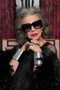 37a7ce66cb45 A Chat With Karen Walker s New Campaign Stars 91-Year-Old Ilona Royce  Smithkin and 65-Year-Old Linda Rodin