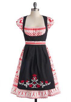 Sweet Seams Dress By Blutsgeschwister| Mod Retro Vintage Dresses | ModCloth.com