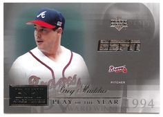Greg Maddux # AW 2 - 2005 Upper Deck ESPN Baseball ESPY Award Winners