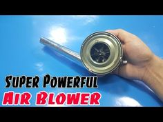 How to Make Mini Super Powerful Air Blower using Cans Fish - YouTube