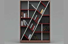 The Blabla Bookshelf Incorporates a Singular Diagonal Section trendhunter.com