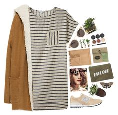 """Untitled #1953"" by tacoxcat ❤ liked on Polyvore featuring Steven Alan, Illesteva, Zara, New Balance, Armand Diradourian, Izola, Bena and Bare Escentuals"