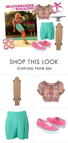 """""""I ♥ Pat McGee!"""" by howdysister ❤ liked on Polyvore featuring Vans, ODD FUTURE and skate pink"""