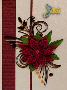 neli: Quilling cards /10.5 cm - 7.5 cm/ and small quilling cards /7.5 cm-5.2 cm/