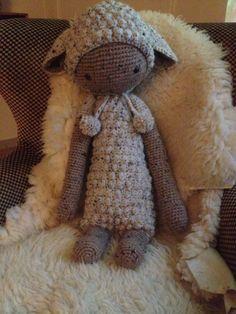 LUPO the lamb made by Johanna D. / crochet pattern by lalylala