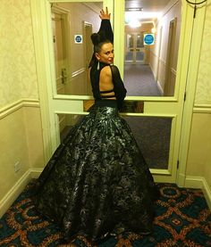 Tonight was amazing! I can't thank #espensalberg for creating masterpieces couture clothing and @boykoco for creating the perfect hairstyle! Love you! #Blackpool #britishopenchampionships #dancingislife by karina_smirnoff