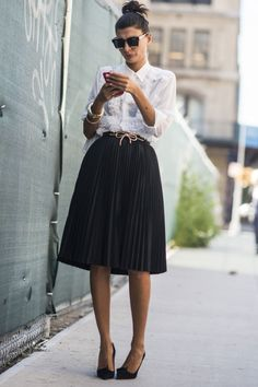 SS16 New York Fashion Week Street Style: Giovanna Battaglia