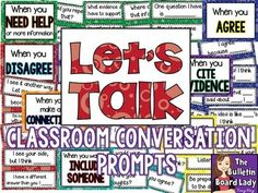 Classroom Conversations / Discussions Bulletin Board