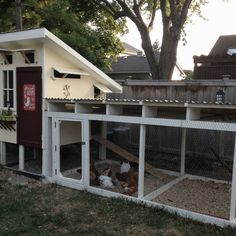 Homemade chicken coop with ventilation and timed lighting. Greenhouse Growing, Greenhouse Plans, Plant Watering System, Live Chicken, Greenhouse Supplies, Ground Covering, Building A Chicken Coop, Chickens Backyard, Cool Lighting