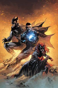 Batwoman, Batgirl, Comic Books Art, Comic Art, Batman Artwork, Batman Wallpaper, Dc Rebirth, Marvel E Dc, Batman Universe