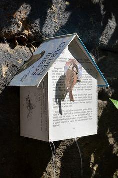 Blue Ladybird Bird Box by Jennifer Collier - Radiance