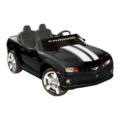 National Products 12V Chevrolet Camaro Ride-On, Black