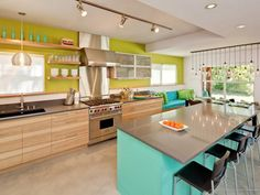 Discover the most popular paint colors for kitchens.