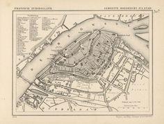 Dordrecht (Dordt) - the Netherlands - Atlas 1868 Family Roots, City Maps, Old City, Cartography, Genealogy, Childhood Memories, Holland, Dutch, Cities