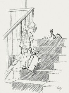 E.H. Shepard's Original Winnie the Pooh Drawings from the Winnie-the- Pooh books by A. A. Milne via Gems