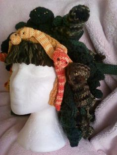 Medusa Crochet Wig by FGMCollective on Etsy, $65.00