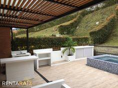 terraza con bbq