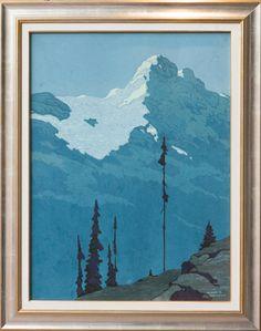 Mountain Landscape, Franz Johnston