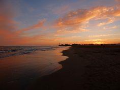 Instantes Fotográficos...Momentos Camara : El Ocaso sobre la Playa de Maspalomas en Gran Cana...