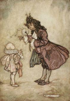 The Little White Bird, Peter Pan in Kensington Gardens  illustrated by Arthur Rackham